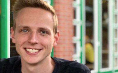 Yannic Lorenz, Bachelorstudent Maschinenbau der PHWT, gewinnt den Bremer Ingenieurpreis