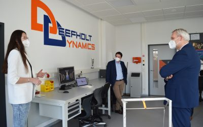 Minister Thümler visits PHWT