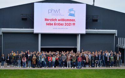 PHWT begrüßt Erstsemester 2021